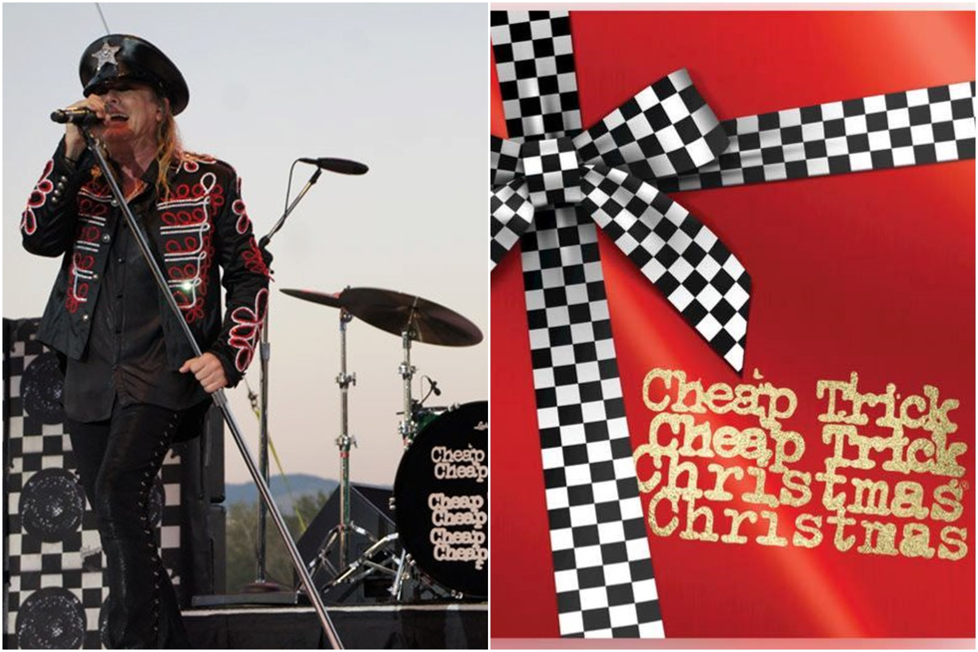 La banda nortemericana Cheap Tricks también ha homenajeado la Navidad durante su carrera. Foto: Facebook Cheap Tricks.