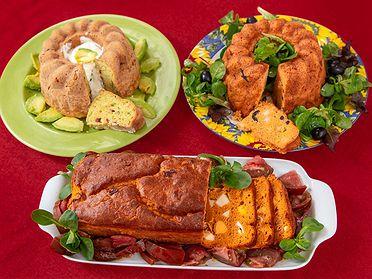 Recetas de bizcochos salados