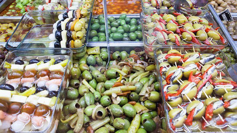 Encurtidos 'Bombas, Lagartos y Cohetes' (Mercado de Vallecas, Madrid)