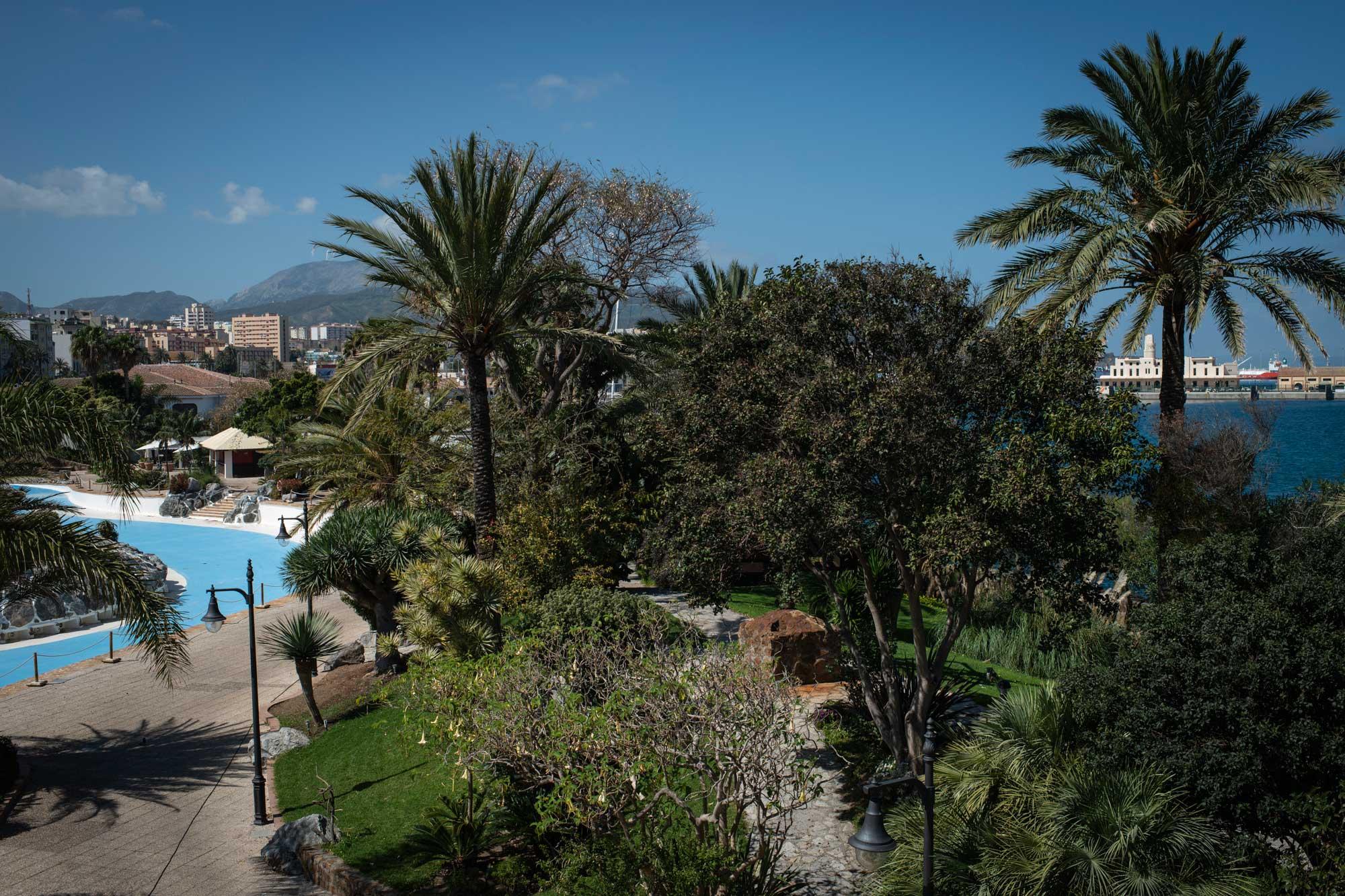 Parque Marítimo de César Manrique en Ceuta. Foto: Sofía Moro.