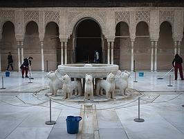 Persiguiendo a los románticos (y sus libros) por la Alhambra