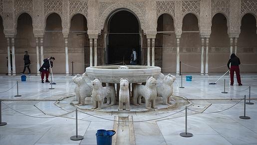 Rutas literarias: la Alhambra con los románticos Gautier, Andersen y Davillier