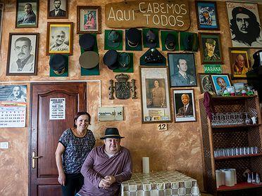 'Guachinches' canarios auténticos en Tenerife