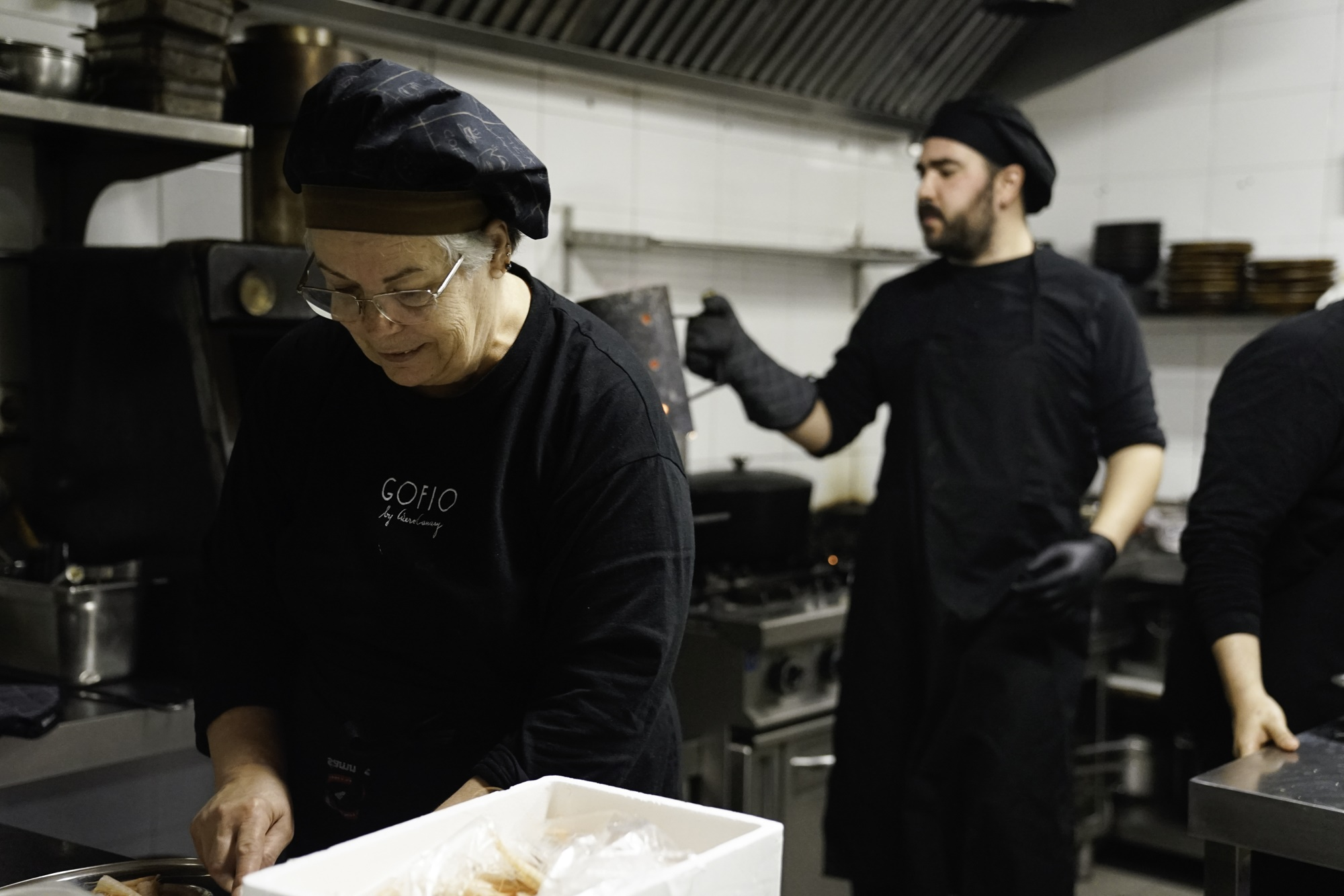 'Gofio' basa su cocina en productos y enfoques puramente canarios con giros novedosos en su cocina.