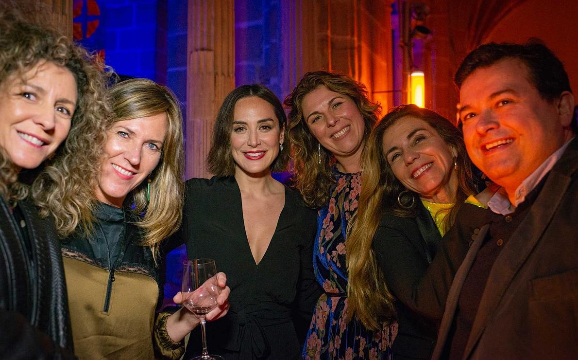 Photocall Gala Soles Guía Repsol - La directora de Guía Repsol, María Ritter, con Tamara Falcó