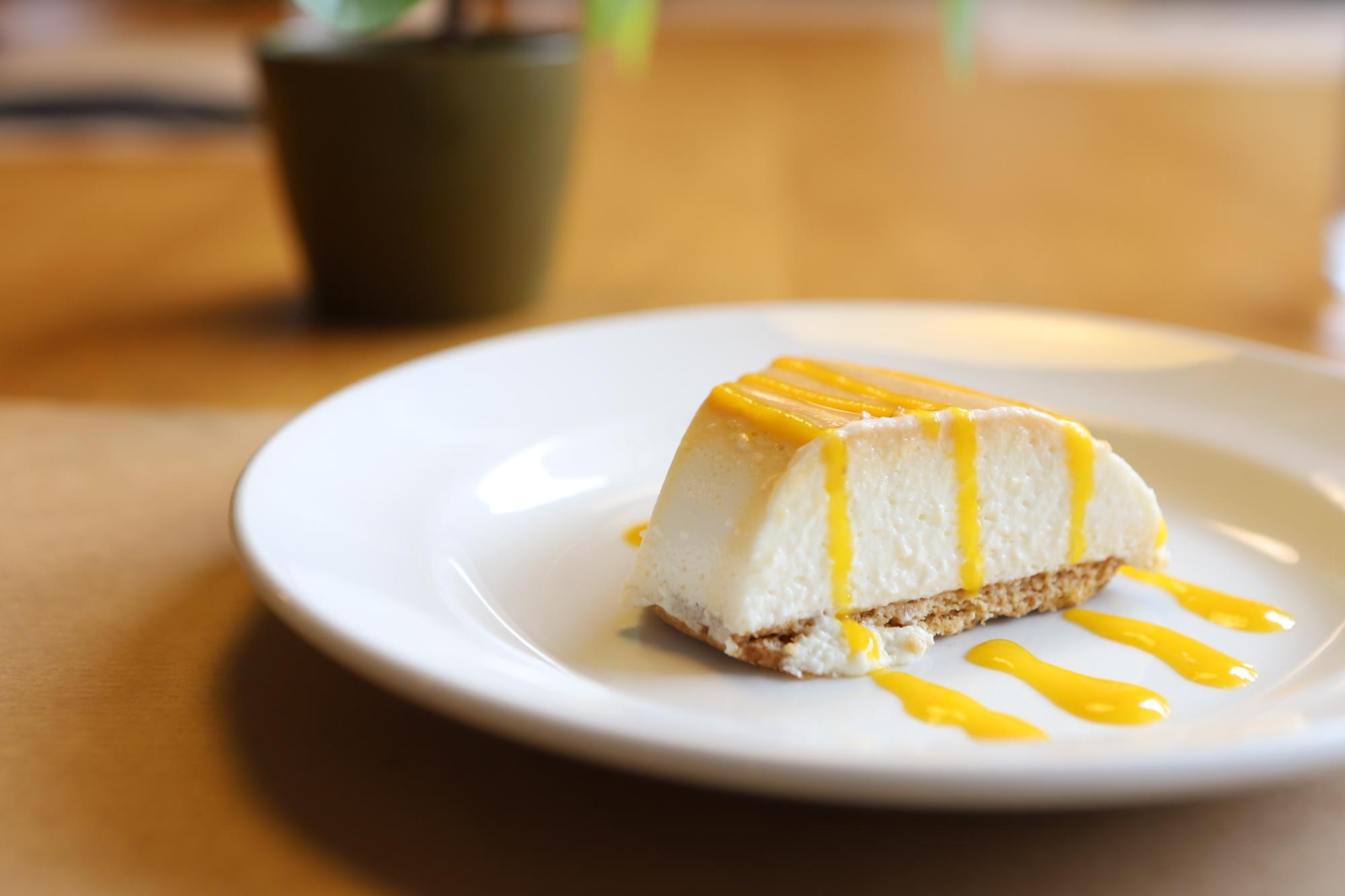 La tarta de queso de 'Casa Agus', placer diario.