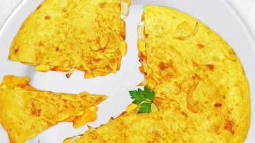 Tortilla con o sin cebolla