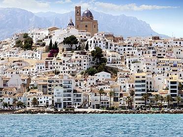 Altea, la luz cegadora del Mediterráneo