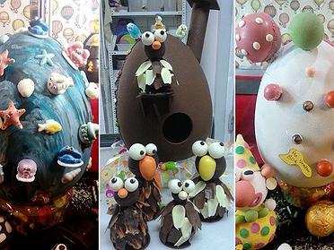 Pastelerías para comprar huevos y monas de Pascua
