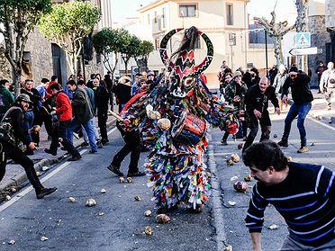 Celebración de la Fiesta de Jarramplas (Piornal, Valle del Jerte)