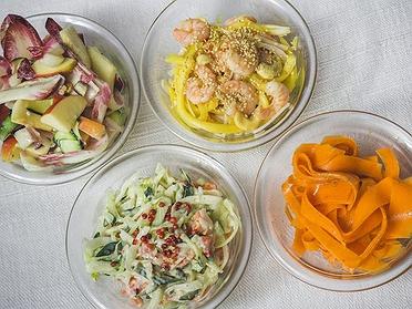 Recetas de ensaladas crujientes para el verano