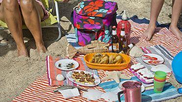 Recetas para un pícnic en la playa