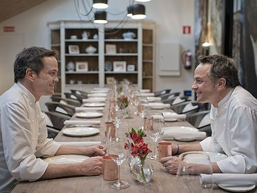 Restaurante 'Dos Cielos' (Madrid)