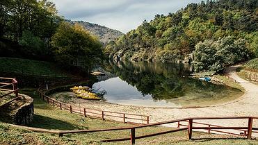 La naturaleza del río Miño