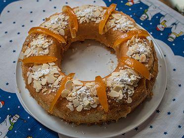 Receta alternativa al Roscón de Reyes y Galette des Rois