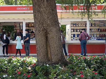 Ruta de la Feria del Libro en Madrid