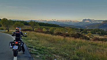 Ruta en moto por Huesca