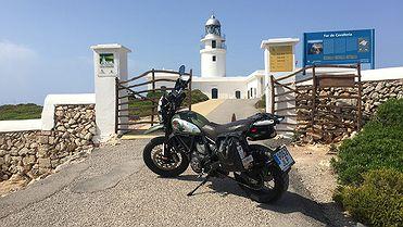 Ruta en moto por Menorca (Baleares)