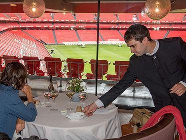 Restaurantes en estadio de fútbol: 'San Mamés Jatetxea' (Bilbao)