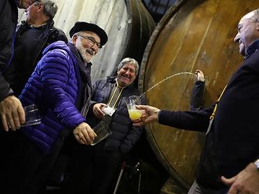 Temporada de sidra en Euskadi