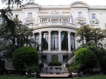 Palacio de los marqueses de Amboage - Embajada de Italia (Madrid)