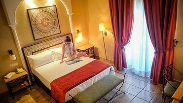 Hoteles en Mérida (Badajoz)