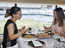 Asia con vistas al campo del Bernabéu