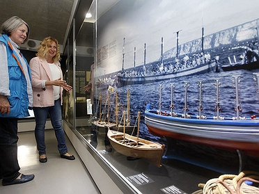 Exposición atún y almadrabas en Benidorm