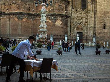 El barrio de Santa Cruz (Sevilla)
