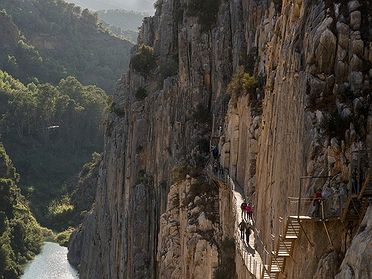 El Caminito del Rey en Málaga
