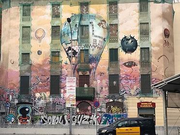 Ruta de grafiti en Barcelona
