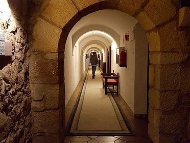 Paradores: Dormir con un fantasma en Sigüenza