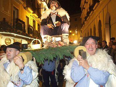 Tradiciones del País Vasco y Navarra: Olentzero