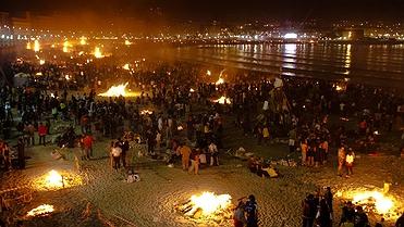 San Juan en A Coruña, Galicia