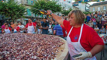 Fiestas gastronómicas en Galicia