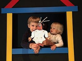 La gran casa de las marionetas que tus hijos podrán tocar