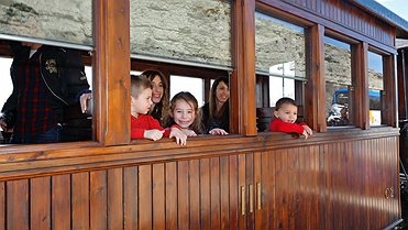 Tren de vapor de Arganda del Rey (Madrid)
