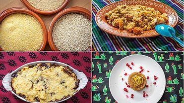 Tres recetas con granos del mundo
