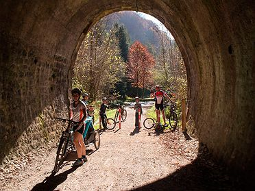 Cinco rutas otoñales por el norte en bicicleta