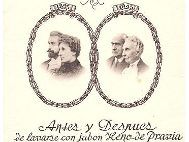 Menú con historia: las bodas de oro de los fundadores de Gal (1945)