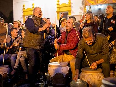 La Zambomba flamenca de Jerez de la Frontera (Cádiz)