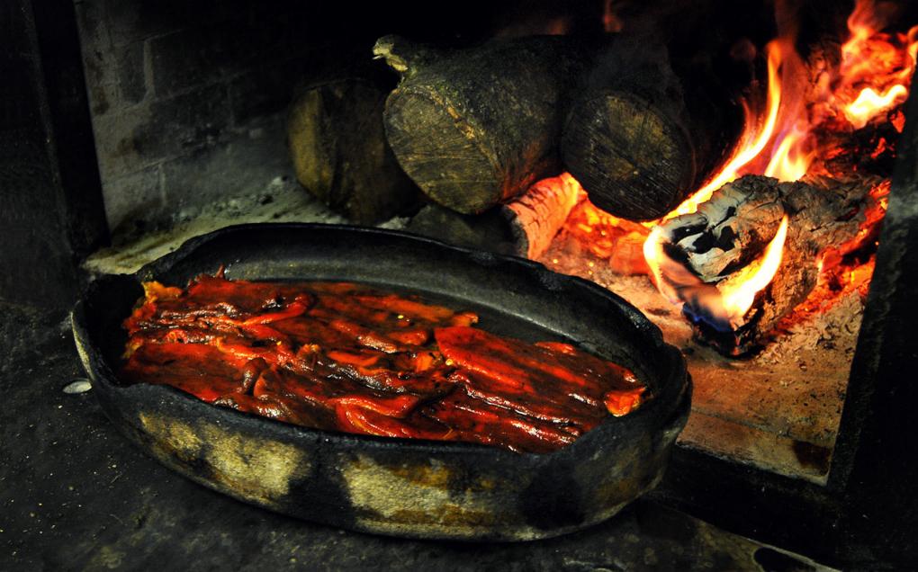 """En 'Etxebarri' se trabaja """"siguiendo la técnica ancestral del fuego"""". Foto: Etxebarri"""