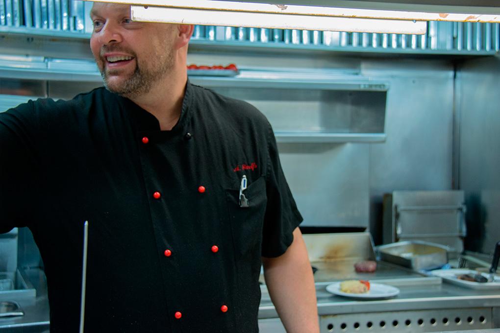 Alex Swolfs llegó a los fogones del restaurante en 2002.