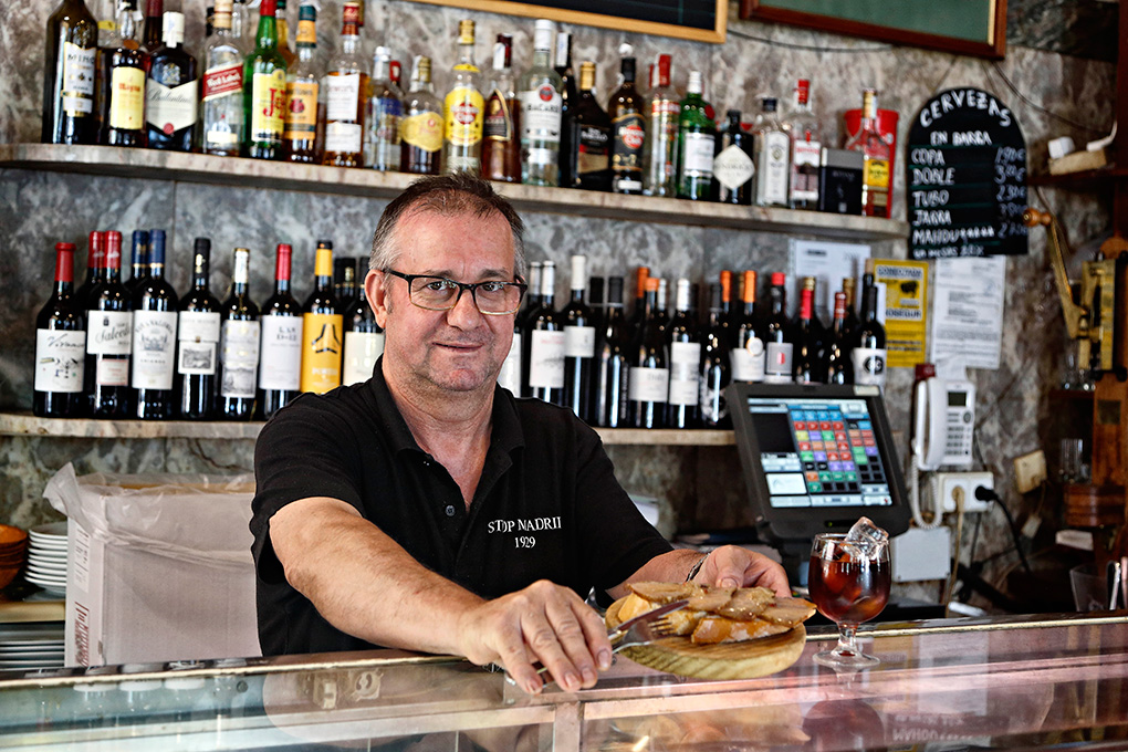 Este bar es uno de los clásicos del barrio.