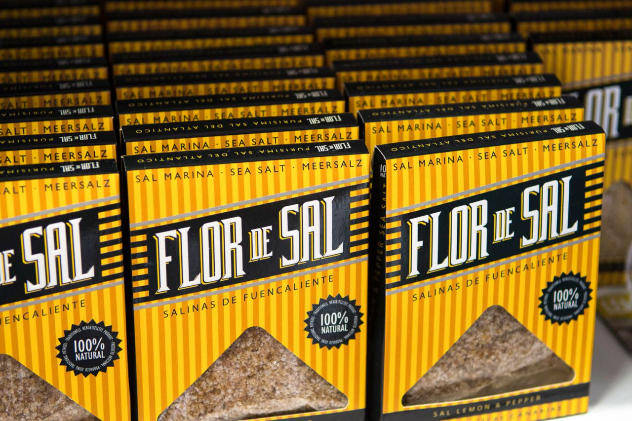 Flor de sal Lemon & Pepper