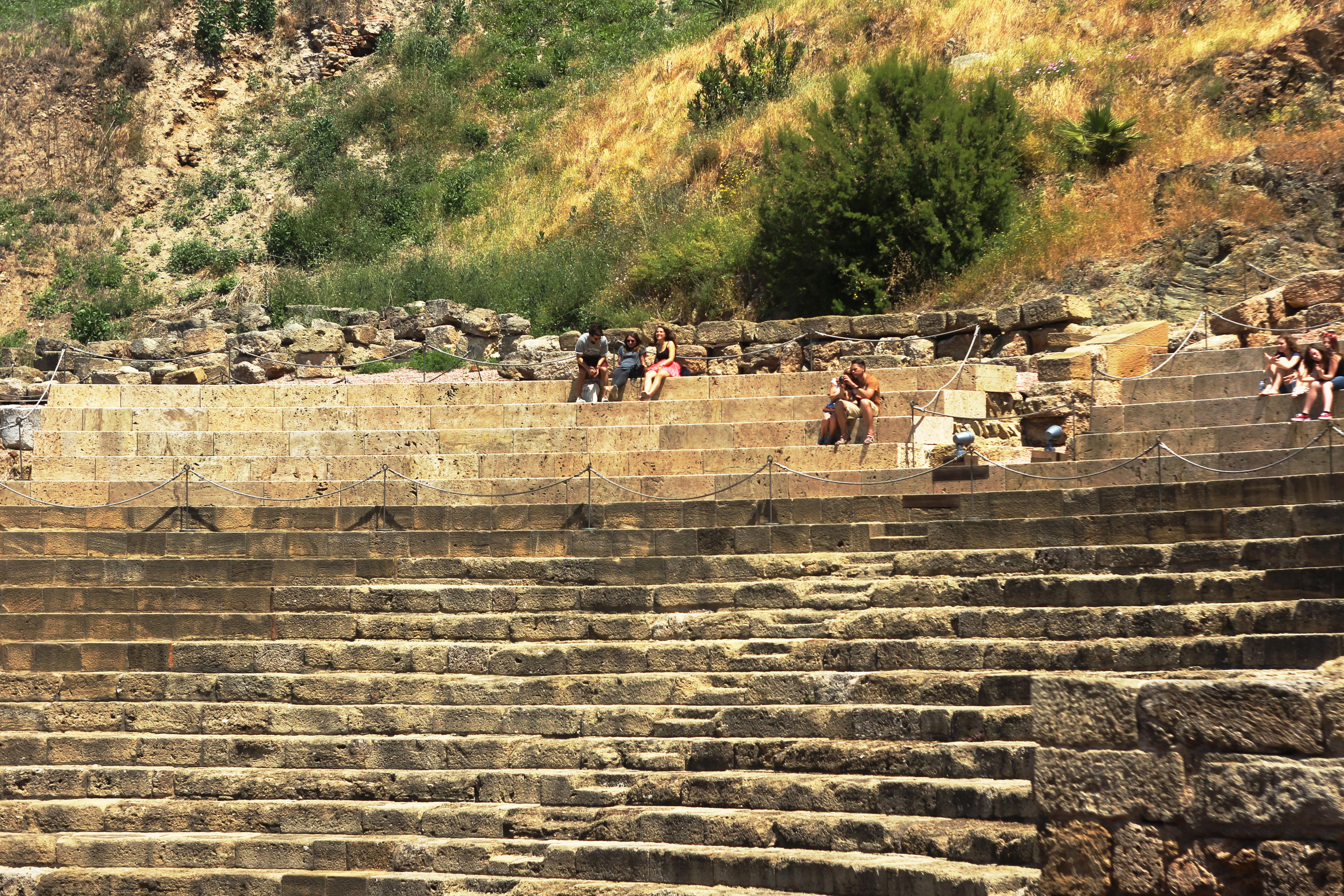 El Teatro Romano funcionó como tal hasta el siglo III. Foto: Natallia Yaskevich.