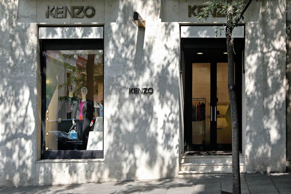 Tienda Kenzo en la calle Jorge Juan, Madrid.