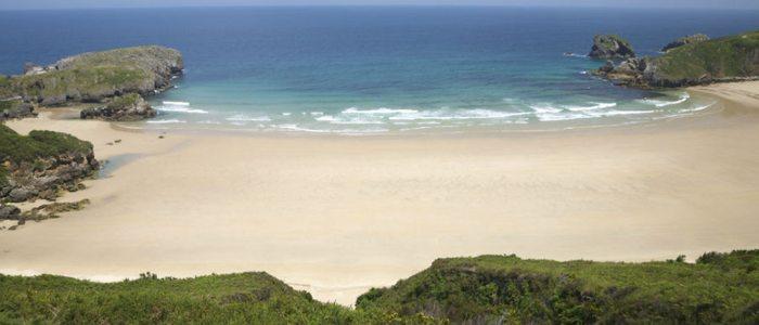 Playa de Torimbia, Llanes.