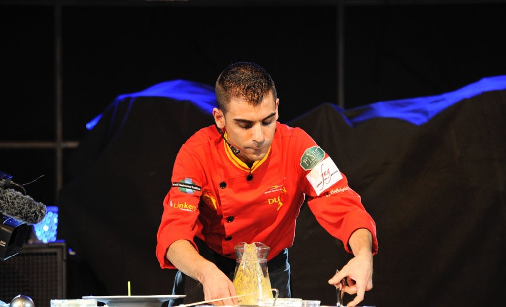 El capitán de la Roja gastro. Foto: Selección Española de Cocina profesional