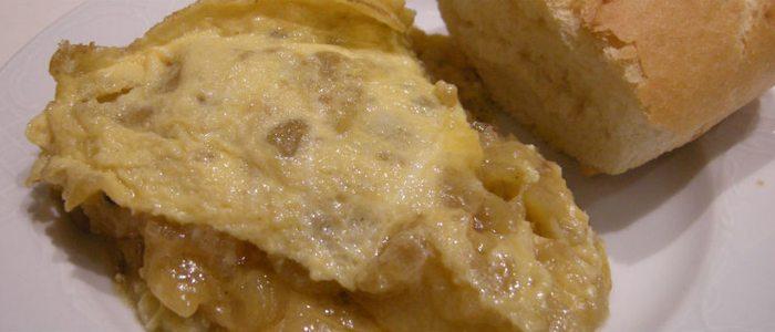 Tortilla de patatas semilíquida de Sylkar.